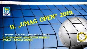 """11. """"UMAG OPEN 2019"""" Rekreacijski Turnir u odbojci"""